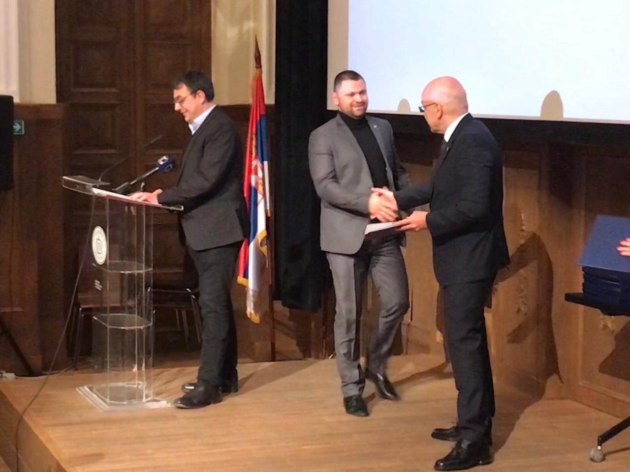 Award ceremony by the Minister of Culture
